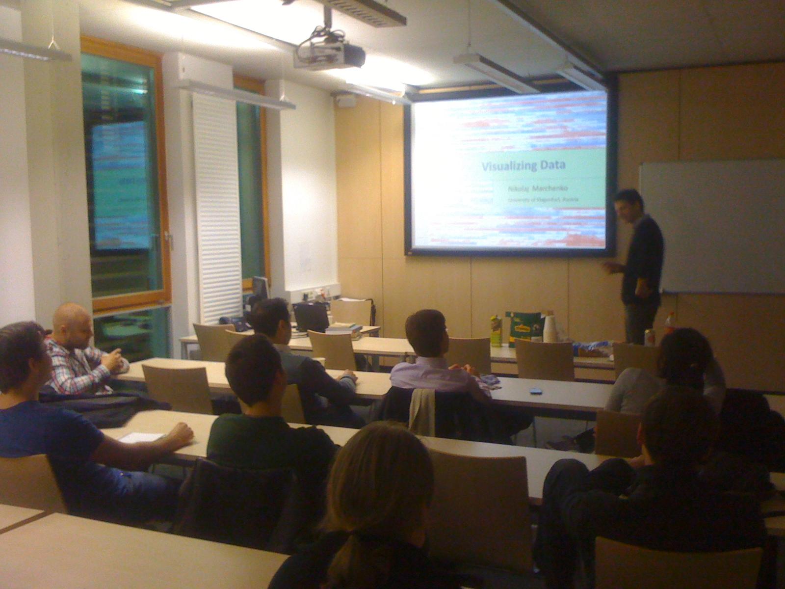 Workshop Visualizing Data